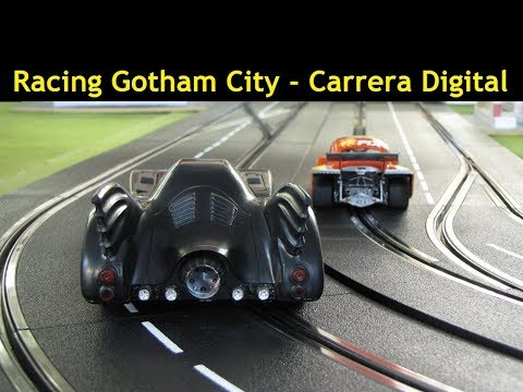 Kafer Beetle Digital Slot Car League Race 9 Gotham City 1966 Batman Track Street Circuit 2018