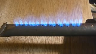 Super Simple DIY Propane Ribbon Burner For Boilers and Forges