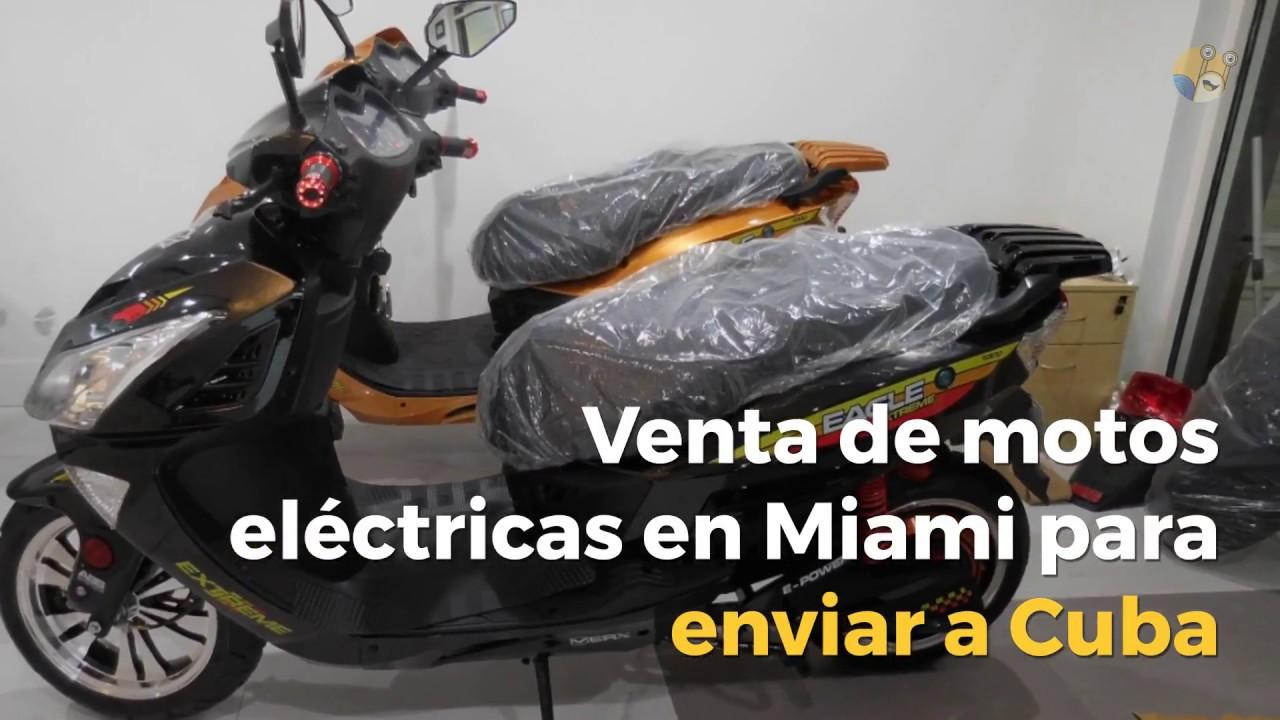 Venta De Motos Eléctricas En Miami Para Cuba Envios Caracol Youtube