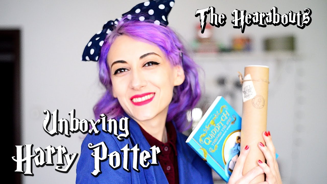 Harry Potter Book Unboxing : Books express harry potter unboxing youtube