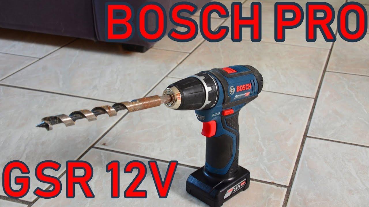 Bosch Pro Gsr 12v 15 Test Et Presentation Youtube