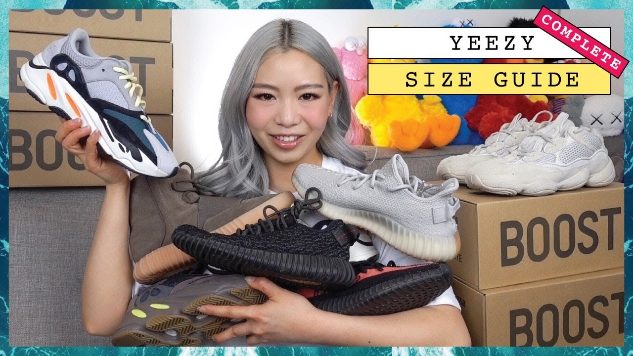 0be208fc9 COMPLETE YEEZY Sizing Guide