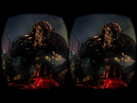 Dying Light in SBS 3D! Google Cardboard - Oculus Rift Pt.4