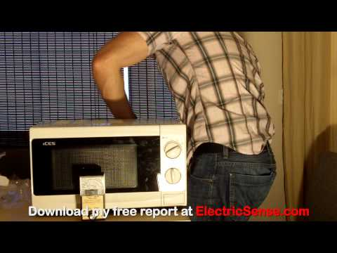 Radiation (RF EMFs) from a new microwave oven?