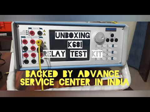 Unboxing Relay test kit