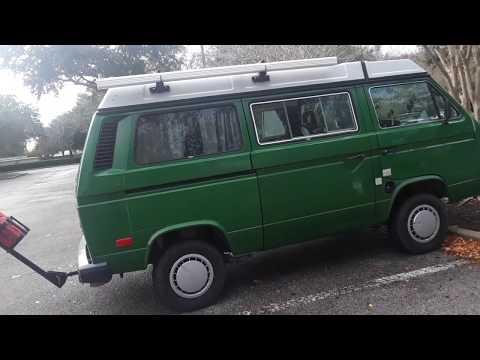 LOOK, i found a Volkswagen Westfalia camper van in largo florida