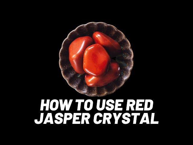 How To Use - RED JASPER | everything you NEED To Know