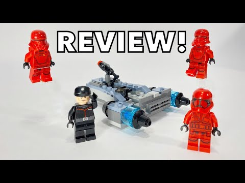 I GOT THE SITH TROOPER BATTLE PACK EARLY! - LEGO 75266 REVIEW!