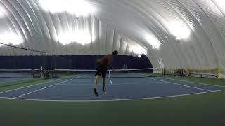 1/14/18 Tennis - Tie Break Tens Highlights