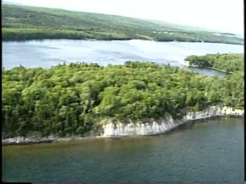 Aerial Survey, Part 9  Ross  Ferry,  Great  Bras d' Or to  Chapel  Point,  St.  Andrews  Channel, Br