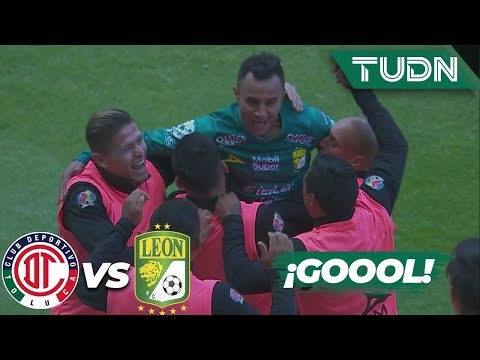 ¡SÚPER GOLAZO! Chapito de tiro libre | Toluca 2-2 León | Guard1anes 2020 BBVA Liga MX - J17 | TUDN