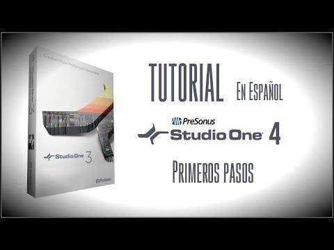TUTORIAL: Studio One 3 en Español. Primeros pasos. Configuración, metrónomo, tempo y compases.