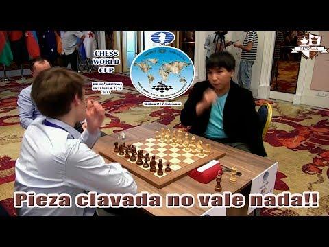 Copa del mundo de ajedrez 2017 Wesley So vs Matthias Bluebaum, Partida del día