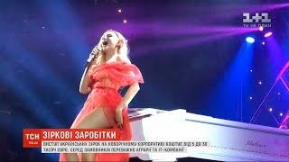 MONATIK, Полякова, Сердючка: скільки коштує виступ зірки на новорічному корпоративі