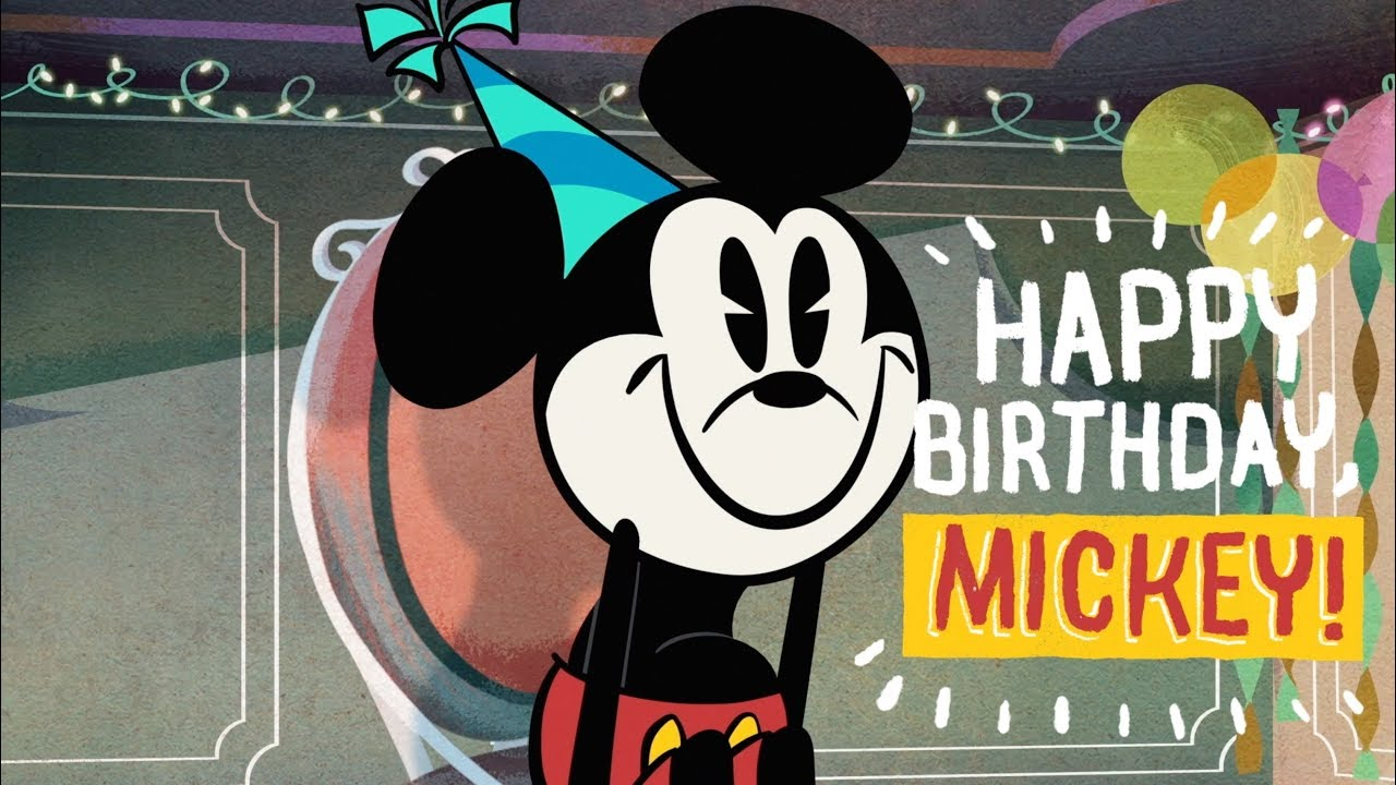 Happy Birthday Mickey and Minnie Mouse!