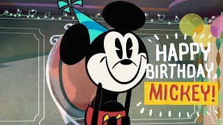 Mickey Mouse  Happy Birthday Mickey