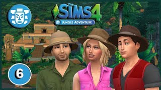The Sims 4: Jungle Adventures Pt 6: Temple Exploration
