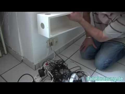 Kabelordnung De Hilft Bei Kabel Chaos Youtube