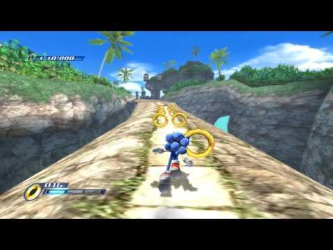 Sonic Unleashed (Wii) Abadat Jungle Joyride Daytime Stages