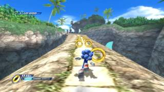 Sonic Unleashed (Wii) Abadat Jungle Joyride Daytime Stages