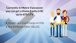 HELOC Lowest Rates BC | 65% LTV Options to 75% LTV