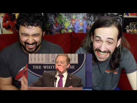 Thumbnail: Sean Spicer Press Conference Cold Open - SNL REACTION!!!