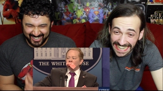 sean spicer press conference cold open   snl reaction