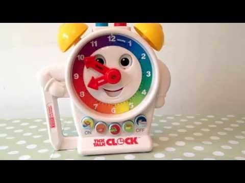V tech 1989 Tick talk clock Electronic Retro Childrens Talking Musical Toy