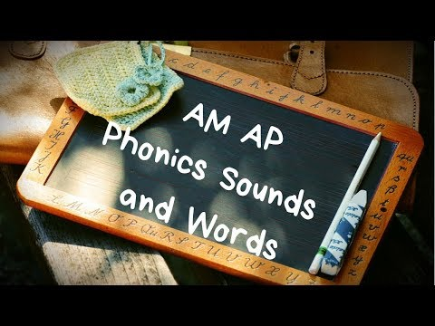 Phonics 2 Unit 1 (AM and AP sounds) English Lesson