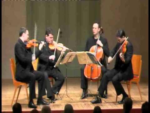 Jerusalem Quartet - J. Brahms, String Quartet Op. 67 - 2. Andante
