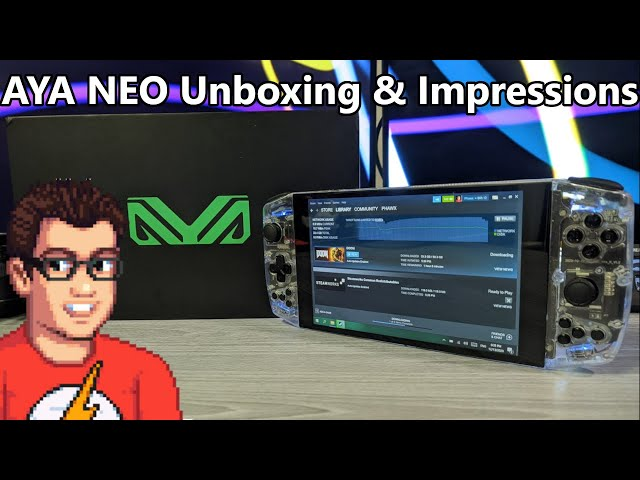 AYA Neo Unboxing & Impressions - PreProduction Quick Look