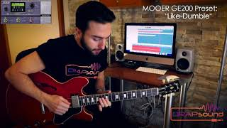 "Luca Privitera plays Mooer GE200 Preset: ""Like-Dumble"" - isolated track"