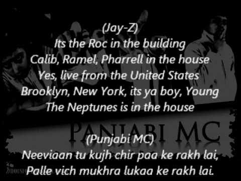Beware of the boys (Mundeyan ton bach ke) - Punjabi MC ft Jay-Z and Labh Janjua - Lyrics on screen