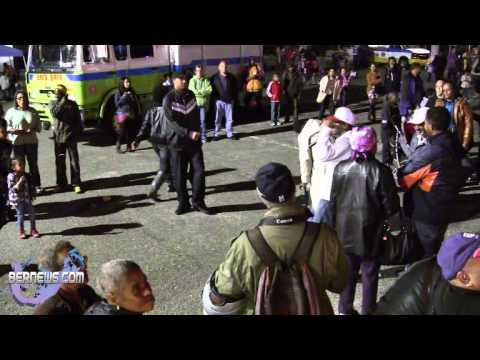 Big Snipes At St Georges Santa Parade, Dec 8 2012