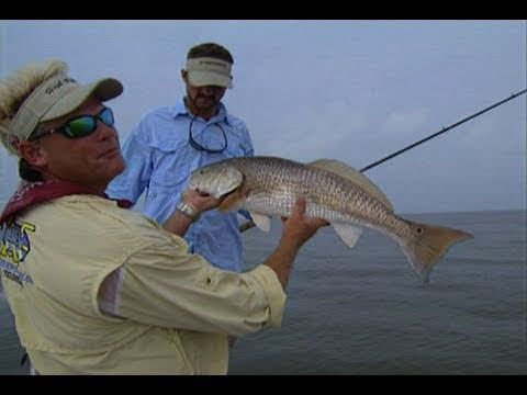 Mississippi River Fishing For Bull Redfish In Venice Louisiana