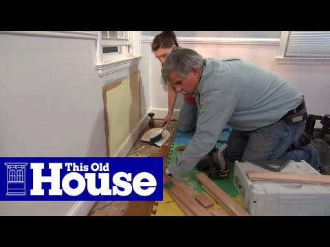 How to Repair a TongueandGroove Wood Floor This Old
