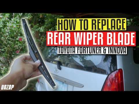 DIY Rear Wiper Replacement for Toyota Fortuner & Innova