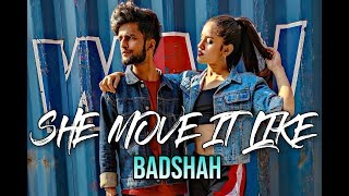 She Move It Like - Badshah | ONE Album || Abhishek Chaudhary Choreography ||
