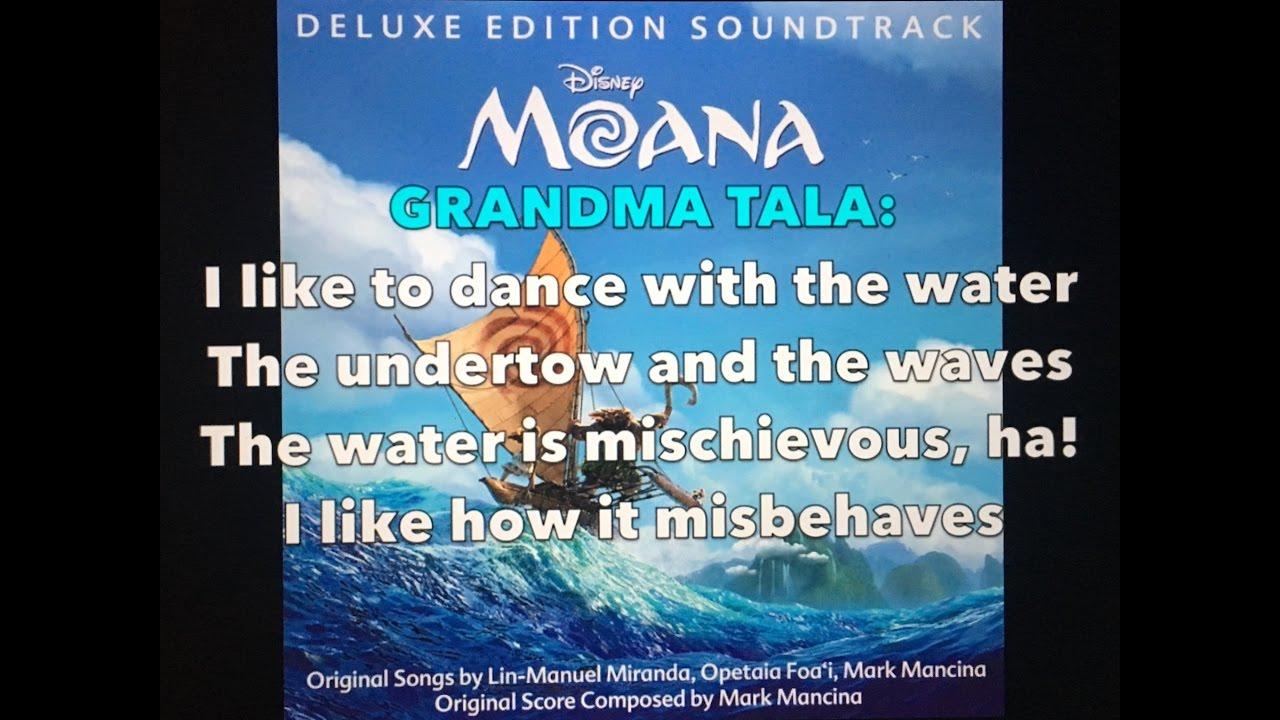 Where You Are - Moana (Lyrics) - YouTube