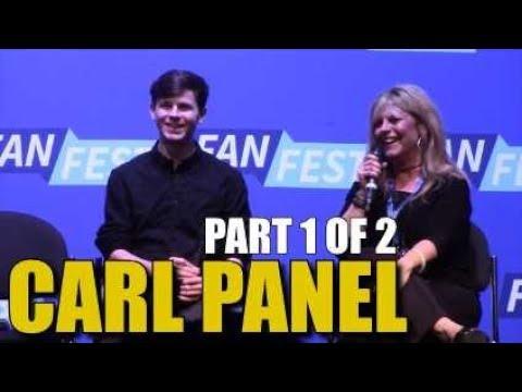 Walker Stalker Nashville 2018 Carl Panel  Chandler Riggs WSC Nashville Panel Part 1 Of 2