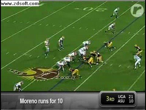 In Focus:Knowshon Moreno vs Arizona State prt 1