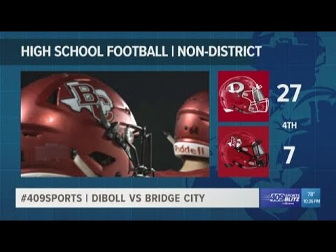 Diboll High School takes home the win against Bridge City