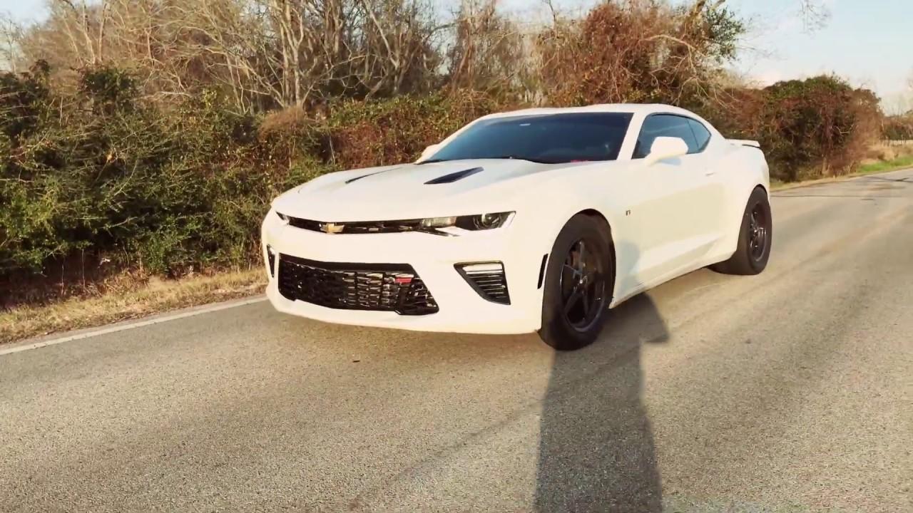2016 Camaro SS Turbo Burnout - YouTube