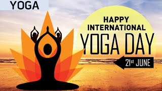 Happy International Yoga Day Whatsapp Status 2020 | Yoga Day Video 2020