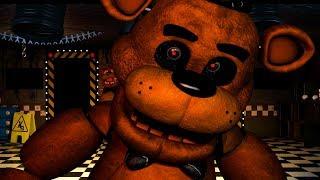THE MOST REAL ST C FREDDY FAZBEAR ATTACKS...  FNAF Omega Custom Night Five Nights at Freddys