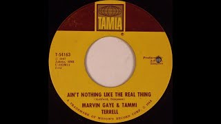 MARVIN GAYE/TAMMI TERRELL: AIN'T NOTHING LIKE THE REAL THING [Lyrics Included] 2-27-1967. (HD)