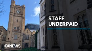 Wage theft hotline set up for university staff being underpaid | ABC News