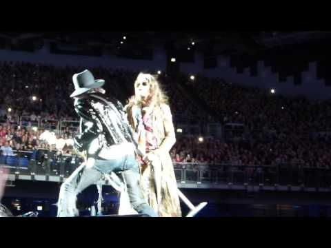 Aerosmith At The 3Arena, Dublin - 14 June 2017