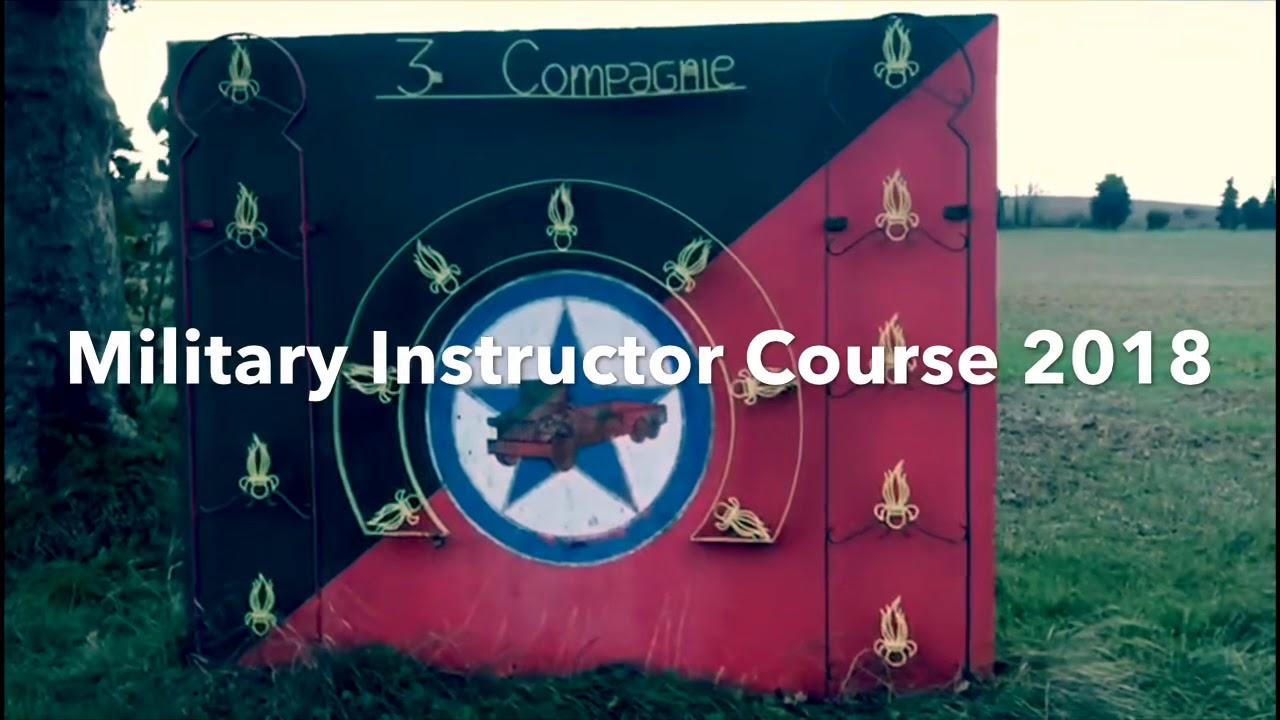 Krav Maga Military Instructor Course French Foreign Legion - Legion Etranger