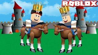 Kral Olup Düşmanlara Karşı Kaleni Savun! - Panda ile Roblox Kingdom Tycoon